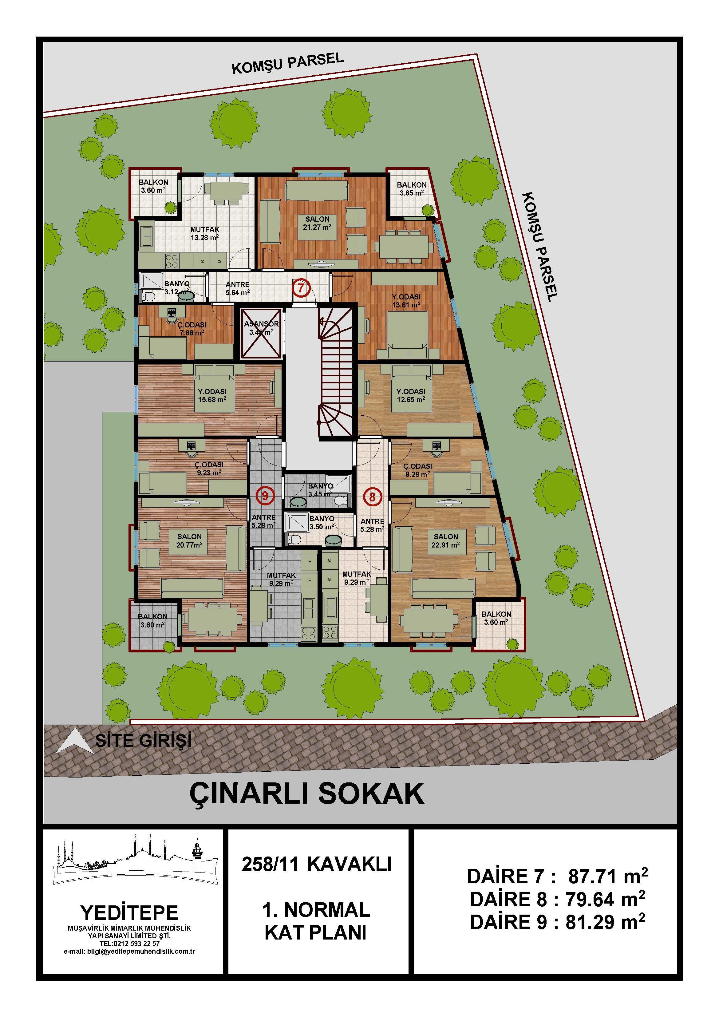 Sinan KORKMAZ 1.Normal Kat